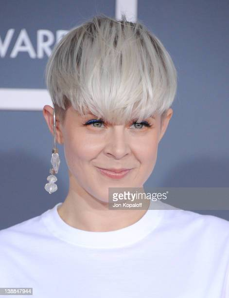 Musician Robyn arrives at 54th Annual GRAMMY Awards held the at Staples Center on February 12 2012 in Los Angeles California