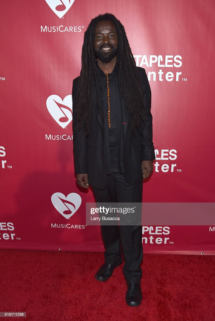 Musician Rocky Dawuni attends the 2016 MusiCares Person of the Year honoring Lionel Richie at the Los Angeles Convention Center on February 13, 2016 in Los Angeles, California.