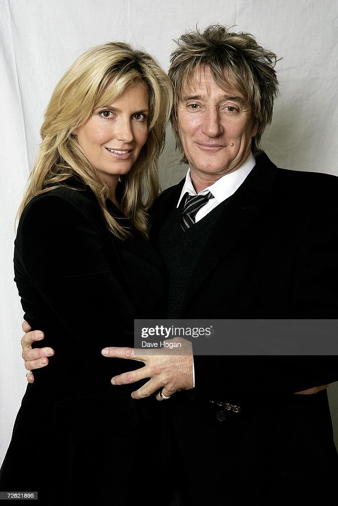 Rod Stewart Portrait Session