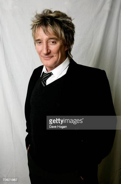 Musician Rod Stewart poses for a portrait at Langham Hotel on October 31 2006 in London England Rod's new album ' Still the sameGreat Rock Classics...