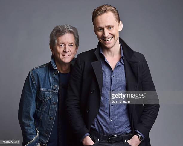 Musician Rodney Crowell and actor Tom Hiddleston pose for a portrait at the 'I Saw The Light' press day on October 17 2015 in Nashville Tennessee