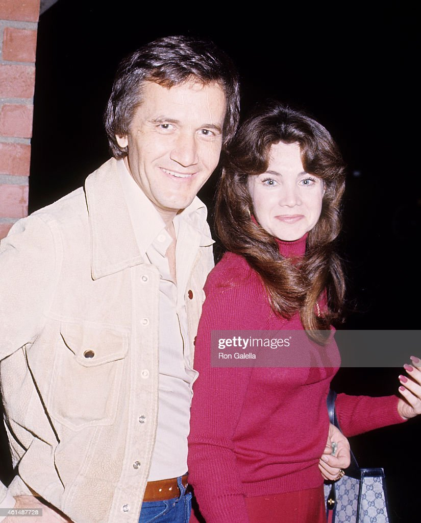 Musician Roger Miller and date Judy York on March 18 1976 at Pips Club in Beverly Hills California