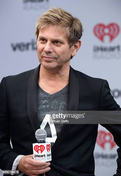 Musician Roger Taylor of Duran Duran attends the 2015 iHeartRadio Music Festival at MGM Grand Garden Arena on September 18 2015 in Las Vegas Nevada