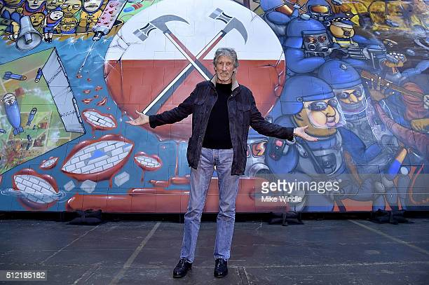 Musician Roger Waters attends in celebration of the release of the Limited Edition box set of the film 'Roger Waters The Wall' Roger Waters hosts Los...