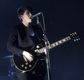 Musician Romy Madley Croft of the band The xx performs onstage during day 2 of the 2013 Coachella Valley Music Arts Festival at the Empire Polo Club...