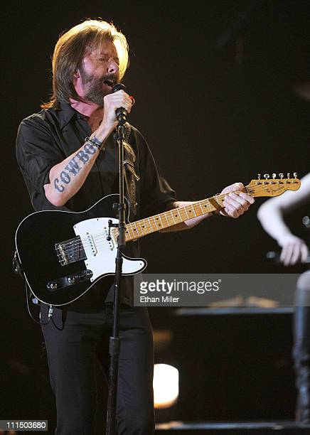 Musician Ronnie Dunn performs onstage at the 46th Annual Academy of Country Music Awards held at the MGM Grand Garden Arena on April 3 2011 in Las...