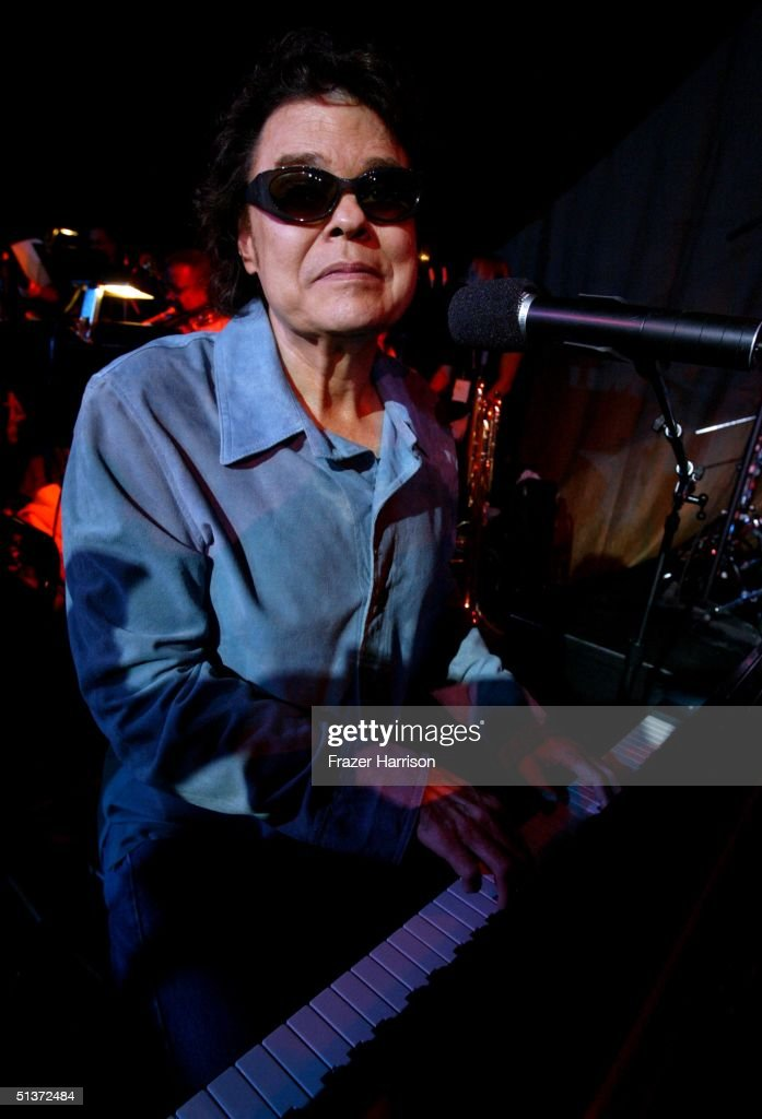 Musician <a gi-track='captionPersonalityLinkClicked' href=/galleries/search?phrase=Ronnie+Milsap&family=editorial&specificpeople=228279 ng-click='$event.stopPropagation()'>Ronnie Milsap</a> attends rehearsal for the Ray Charles tribute evening held at the Beverly Hilton Hotel September 29, 2004 in Beverly Hills, California.