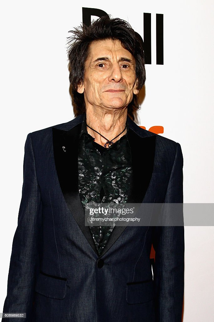 Musician Ronnie Wood attends the 'The Rolling Stones Ole Ole Ole!: A Trip Across Latin America' premiere held at Roy Thomson Hall during the Toronto International Film Festival on September 16, 2016 in Toronto, Canada.