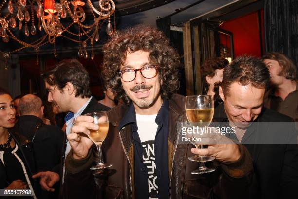 Musician Rudy from Malka Family attends the 'Apero Gouter' Cocktail Hosted by Le Grand Seigneur Magazine at Bistrot Marguerite on September 28 2017...