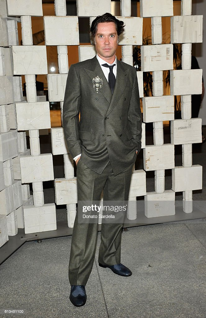 Musician Rufus Wainwright, wearing Bottega Veneta, attends the Hammer Museum 14th Annual Gala In The Garden with generous support from Bottega Veneta at Hammer Museum on October 8, 2016 in Westwood, California.