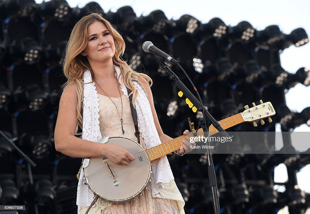 Musician Ruthie Collins performs onstage during 2016 Stagecoach California's Country Music Festival at Empire Polo Club on May 01, 2016 in Indio, California.