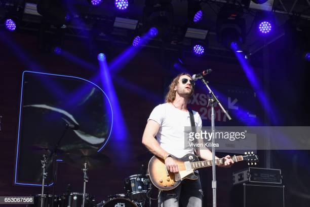 Musician Ryan Hurd performs onstage during Pandora at SXSW 2017 on March 13 2017 in Austin Texas