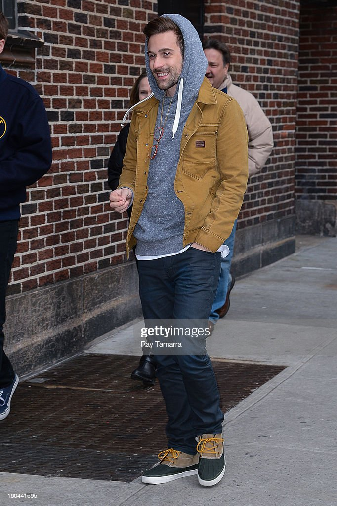 Musician Ryan Lewis enters the 'Late Show With David Letterman' taping at the Ed Sullivan Theater on January 31, 2013 in New York City.