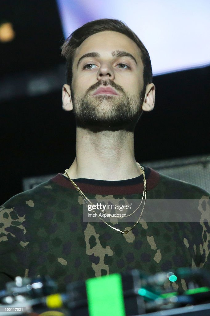 Musician Ryan Lewis performs onstage during the 2013 Paid Dues Independent Hip Hop Festival at San Manuel Amphitheater on March 30, 2013 in San Bernardino, California.
