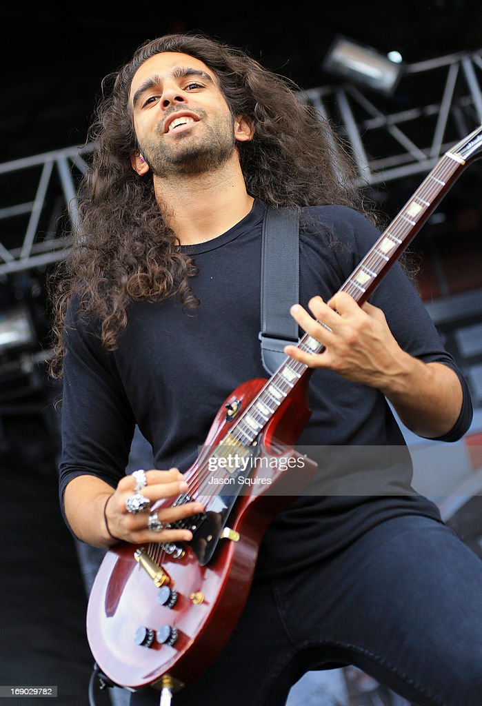 Musician Ryan Patrick of Otherwise performs during 2013 Rock On The Range at Columbus Crew Stadium on May 18, 2013 in Columbus, Ohio.
