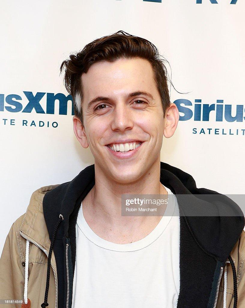 Musician Ryan Rabin of the band GROUPLOVE at SiriusXM Studios on September 25, 2013 in New York City.