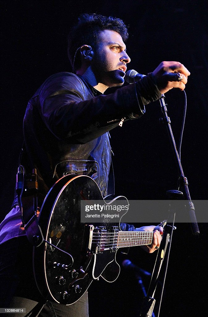 Musician Ryan Star performs at The Paramount on November 12, 2011 in Huntington, New York.