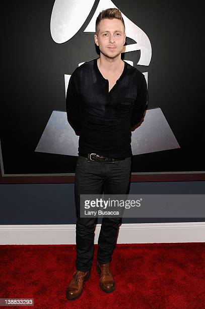 Musician Ryan Tedder arrives at the 54th Annual GRAMMY Awards held at Staples Center on February 12 2012 in Los Angeles California