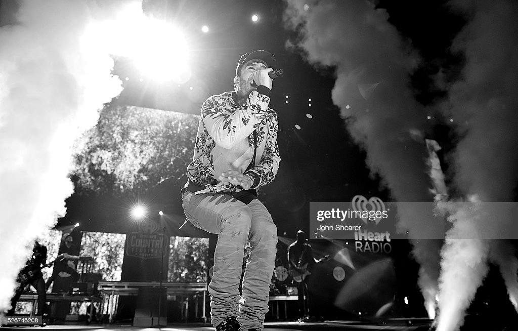 Musician Sam Hunt performs at The Frank Erwin Center on April 30, 2016 in Austin, Texas.