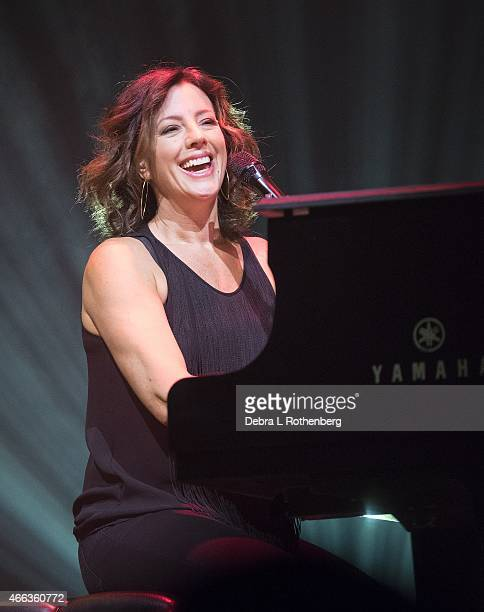 Musician Sarah McLachlan performs at Kings Theatre on March 14 2015 in the Brooklyn borough of New York City