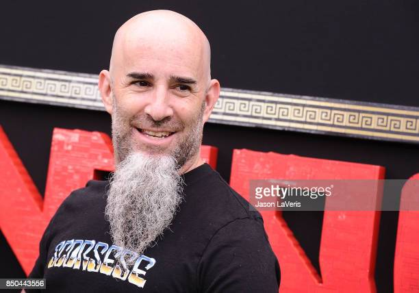 Musician Scott Ian of Anthrax attends the premiere of 'The LEGO Ninjago Movie' at Regency Village Theatre on September 16 2017 in Westwood California