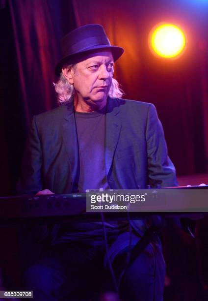Musician Scott Thurston of Tom Petty The Heartbreakers performs onstage during the Malibu Guitar Festival Opening Night Fundraiser at Casa Escobar...