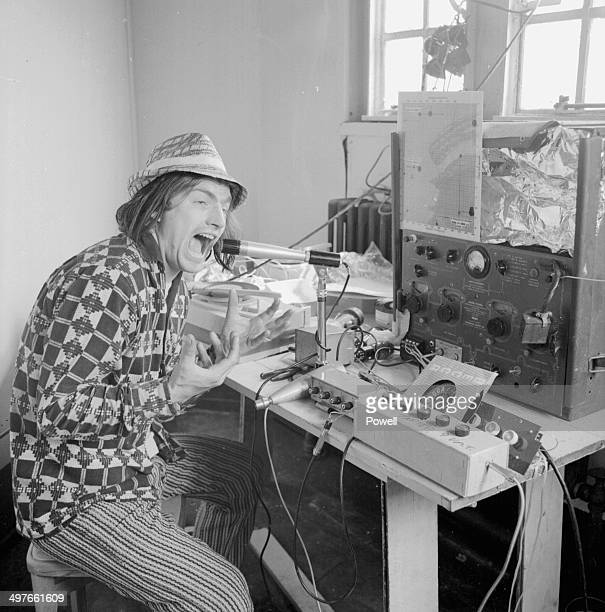 Musician Screaming Lord Sutch on his pirate radio station May 21st 1964