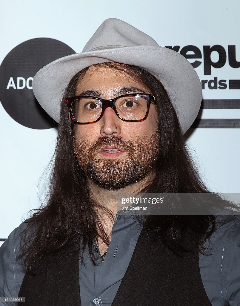 Musician Sean Lennon attends the 2013 Amy Winehouse Foundation Inspiration Awards and Gala at The Waldorf=Astoria on March 21, 2013 in New York City.