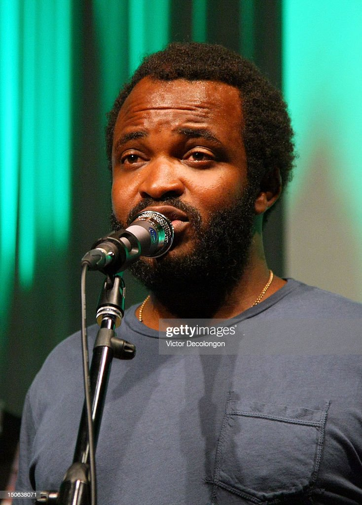 Musician Selema Masakela of Alekesam performs at the screening of 'Alekesam' at Sonos Studio on August 22, 2012 in Los Angeles, California.