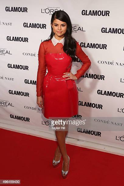 Musician Selena Gomez attends Glamour's 25th Anniversary Women Of The Year Awards at Carnegie Hall on November 9 2015 in New York City