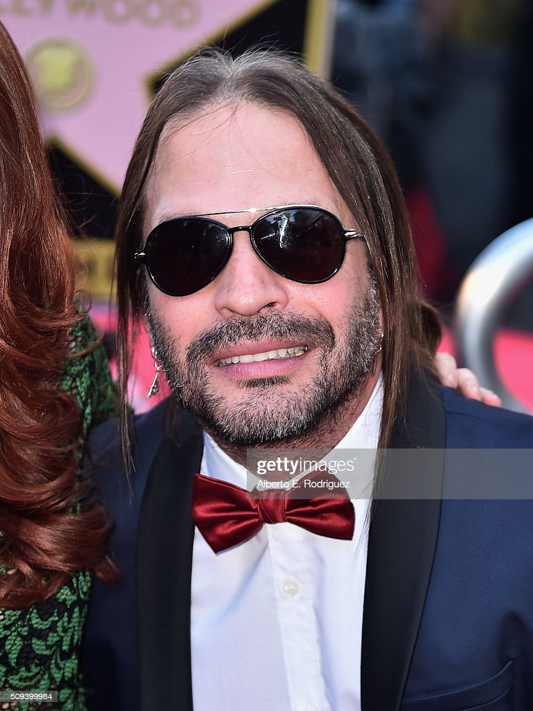 Musician Sergio Vallin attends a ceremony honoring Maná with the 2,573rd Star on the Hollywood Walk of Fame on February 10, 2016 in Hollywood, California.