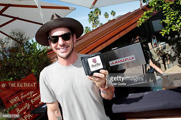 Musician Shannon Leto attends The Retreat At The Sparrows Lodge on April 10 2015 in Palm Springs California