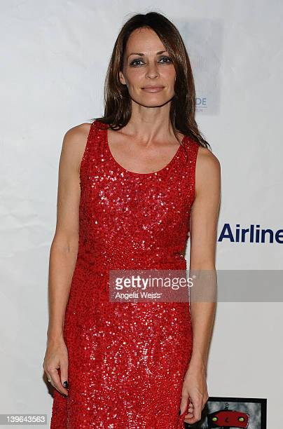 Musician Sharon Corr arrives at the 7th Annual 'Oscar Wilde Honoring The Irish In Film' PreAcademy Awards Event at Bad Robot on February 23 2012 in...