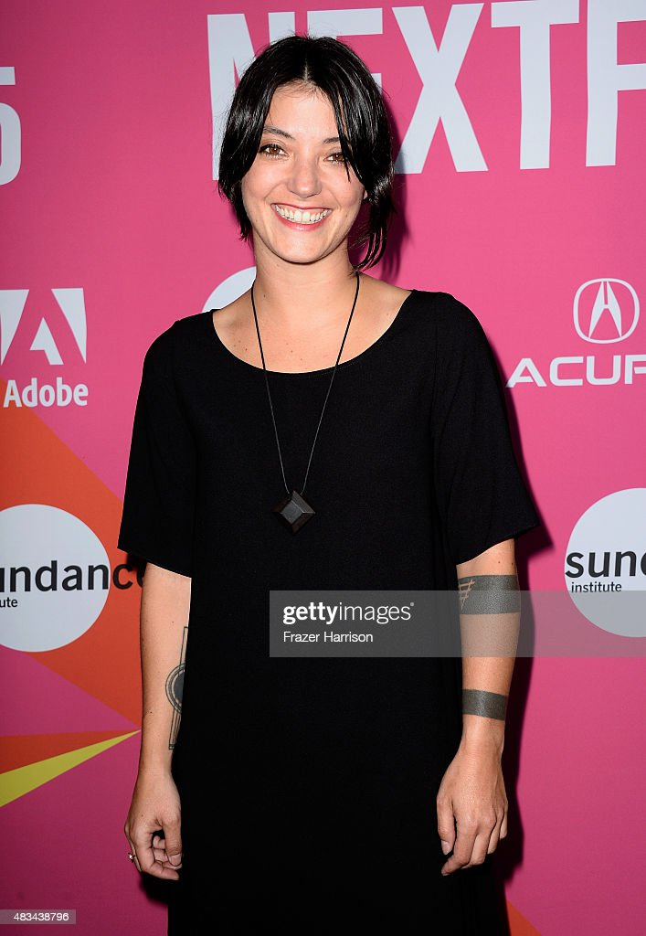Musician Sharon Van Etten attends the 'Entertainment' premiere during the Sundance NEXT FEST at The Theatre at Ace Hotel on August 8 2015 in Los...