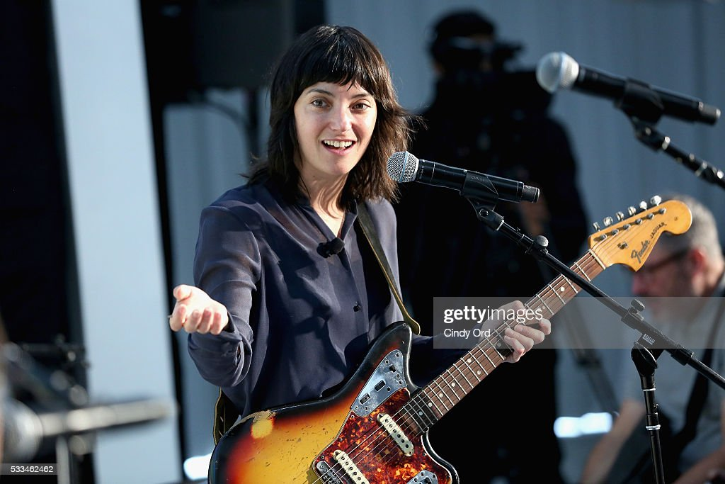 Musician Sharon Van Etten performs at the 2016 Vulture Festival at Milk Studios on May 22 2016 in New York City