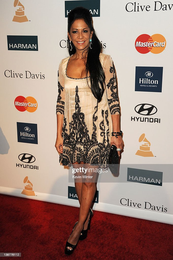 Musician Sheila E. arrives at Clive Davis and the Recording Academy's 2012 Pre-GRAMMY Gala and Salute to Industry Icons Honoring Richard Branson held at The Beverly Hilton Hotel on February 11, 2012 in Beverly Hills, California.