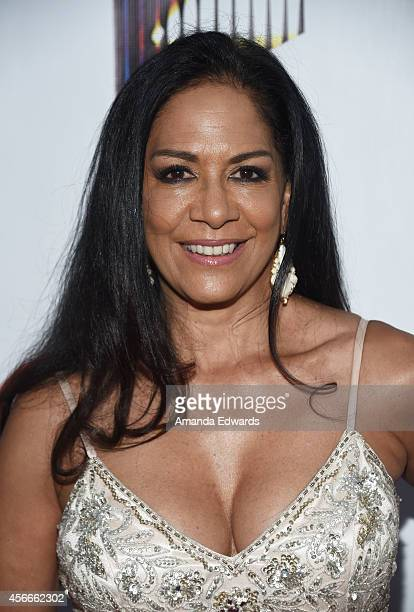 Musician Sheila E arrives at the Special Needs Network's An Evening Under The Stars event at Sony Studios on October 4 2014 in Los Angeles California