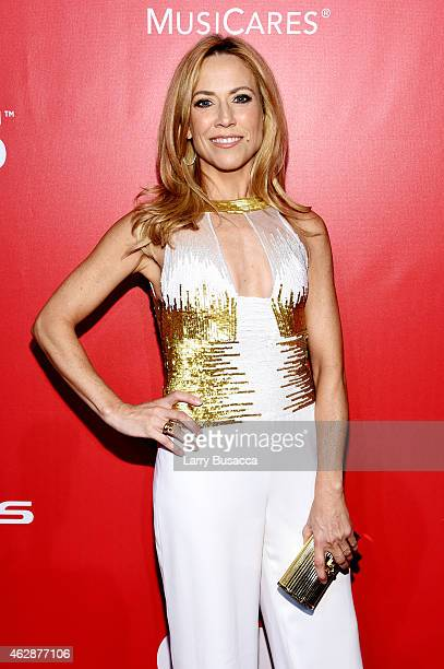 Musician Sheryl Crow attends the 25th anniversary MusiCares 2015 Person Of The Year Gala honoring Bob Dylan at the Los Angeles Convention Center on...