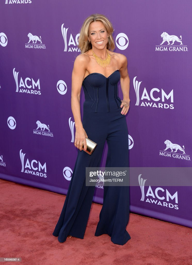 Musician Sheryl Crow attends the 48th Annual Academy of Country Music Awards at the MGM Grand Garden Arena on April 7, 2013 in Las Vegas, Nevada.