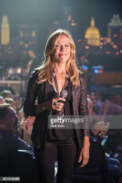 Musician Sheryl Crow cohosts 'Austin City Limits Celebrates 40 Years' at ACL Live on June 26 2014 in Austin Texas