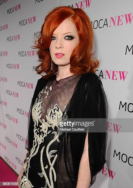 Musician Shirley Manson arrives at the MOCA NEW 30th anniversary gala held at MOCA on November 14 2009 in Los Angeles California