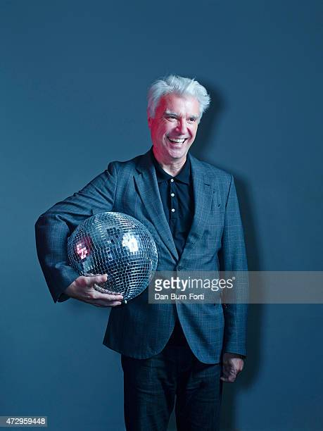 Musician singer and artist David Byrne is photographed for Independent on September 16 2014 in London England