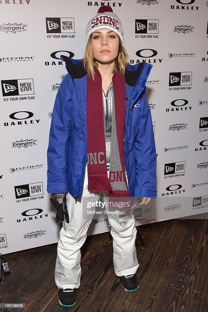 Musician Skylar Grey attends Oakley Learn To Ride In Collaboration With New Era - Day 1 - 2013 Park City on January 18, 2013 in Park City, Utah.