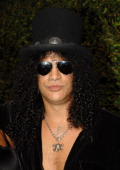 Musician Slash arrives at the 2007 Spike TV Scream Awards at The Greek Theater on October 19 2007 in Los Angeles California