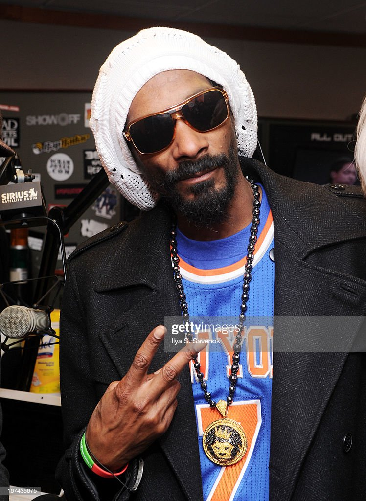Musician Snoop Lion visits 'Sway in the Morning' on Eminem's Shade 45 channel at the SiriusXM Studios on April 25, 2013 in New York City.
