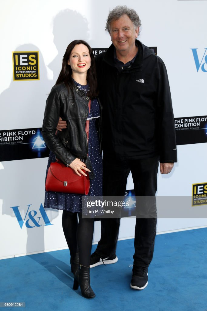 Musician Sophie Ellis-Bextor (L) and her dad Robin Bextor attend the Pink Floyd Exhibition: Their Mortal Remains at the V&A on May 9, 2017 in London, England.