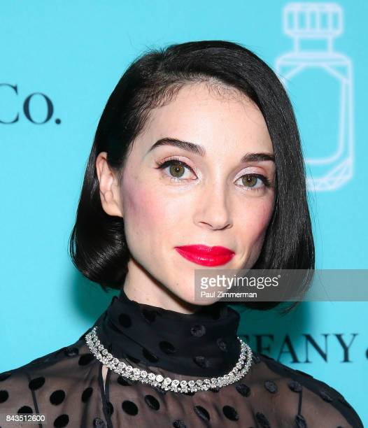 Musician St Vincent attends the Tiffany Co Fragrance Launch at Highline Stages on September 6 2017 in New York City