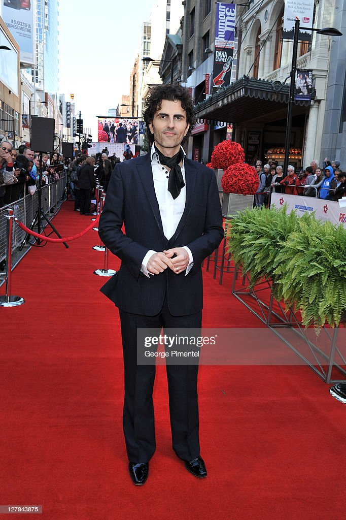Musician Stephan Moccio attends the 2011 Canada Walk of Fame at The Elgin Theatre on October 1, 2011 in Toronto, Canada.
