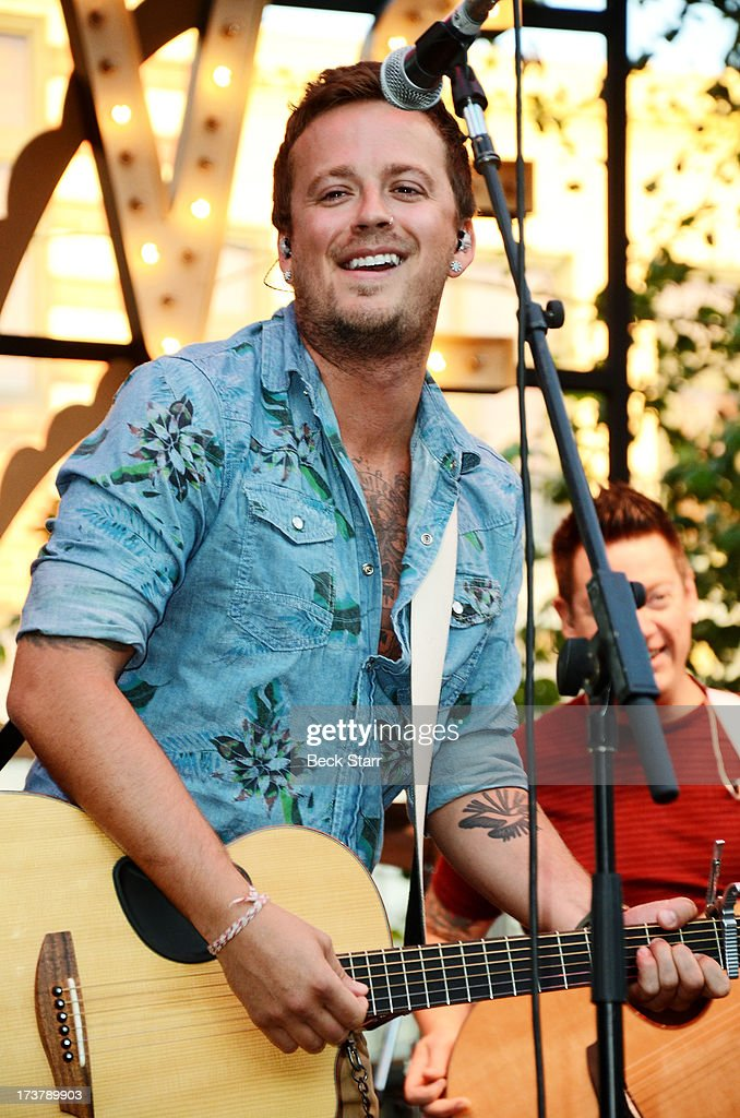 Musician Stephen Barker Liles of Love And Theft performs at The 2013 Summer Concert Series at The Grove on July 17, 2013 in Los Angeles, California.