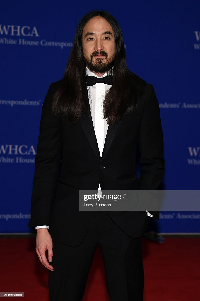 Musician Steve Aoki attends the 102nd White House Correspondents' Association Dinner on April 30, 2016 in Washington, DC.